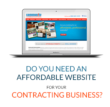 Do You Need An Affordable Website For Your Contracting Business?